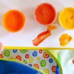 Com fer pintura comestible a casa per a nens