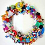 Corones decorades per a una festa infantil
