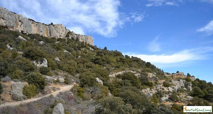 Punta del Curull i Calaixos de l'Ereldo
