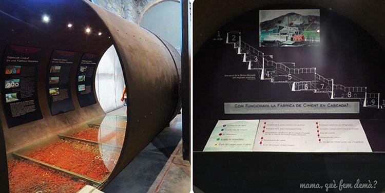Tren del Ciment i el Museu de Ciment a Castellar de n'Hug