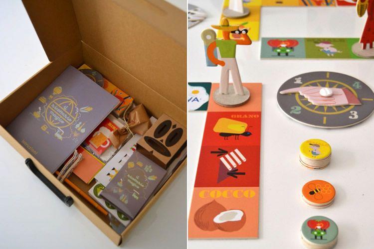 Milimbo, jocs de cartró per muntar i jugar