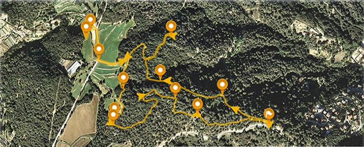 Ruta megalítica de Can Boquet a Cabrils