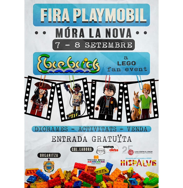 Fira Playmobil Móra la Nova 2019