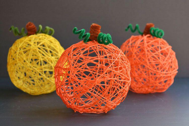 Carabasses de Halloween per fer amb nens
