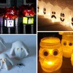 Fanalets de Halloween per fer amb els nens 3