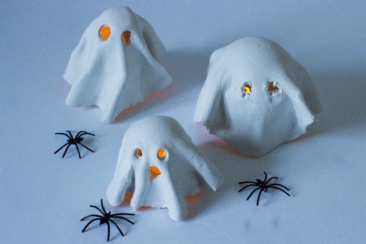 Fanalets de Halloween per fer amb els nens
