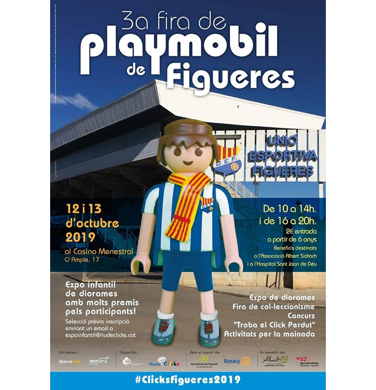 Fira Playmobil Figueres 2019