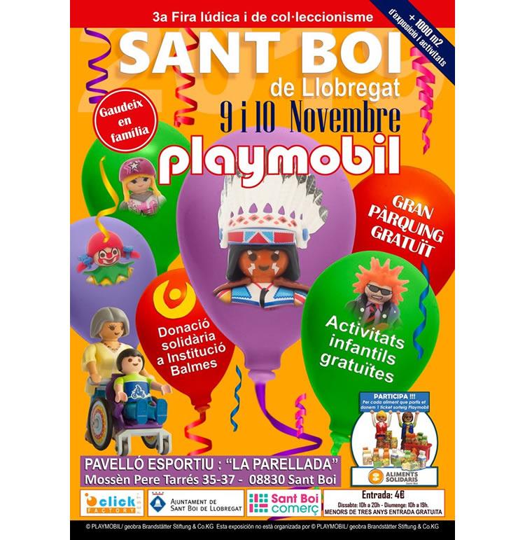 Fira Playmobil Sant Boi de Llobregat