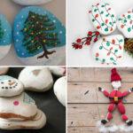 Decoració de Nadal amb pedres