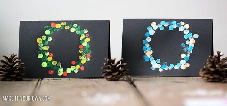 Felicitacions de Nadal per fer a casa