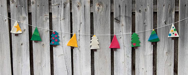 Garlandes nadalenques per fer a casa