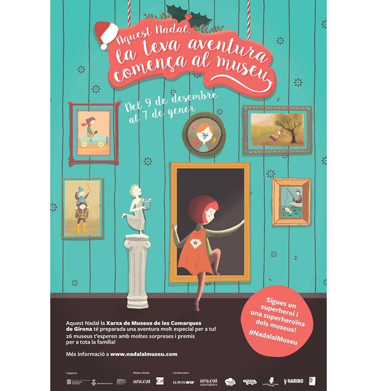 Nadal als Museus de Girona amb nens