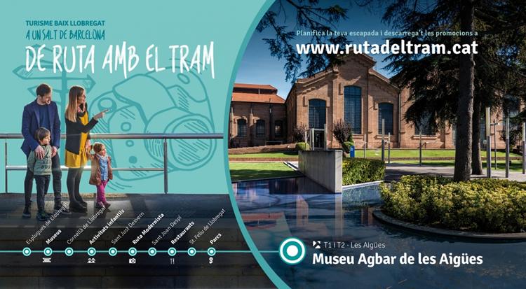 Ruta amb el TRAM pel Baix Llobregat