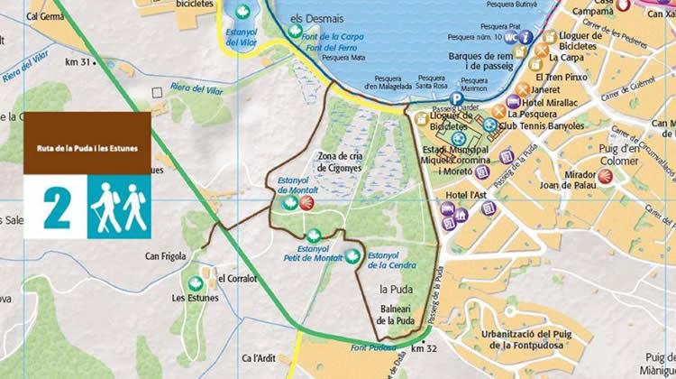 Ruta de la Puda i les Estunes al Pla de l'Estany