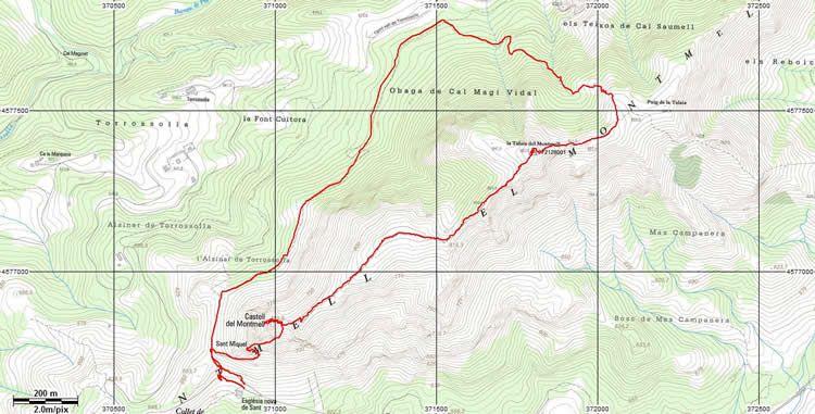 Talaia del Montmell al Baix Penedès