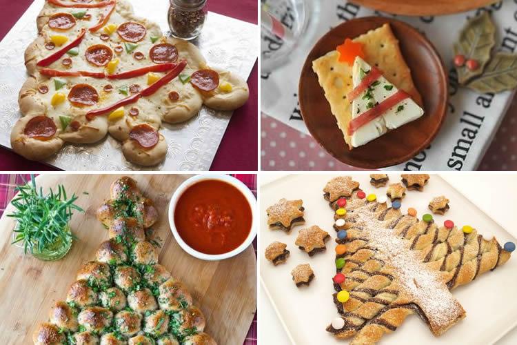 Receptes dolces i salades d'arbres de Nadal