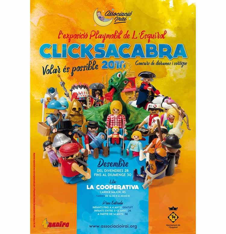 Fira Playmobil L'Esquirol 2018