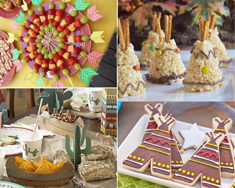 Festa d'aniversari d'indis per a nens