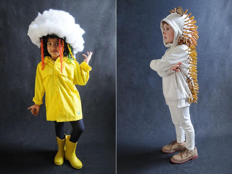 Originals disfresses infantils amb pasta