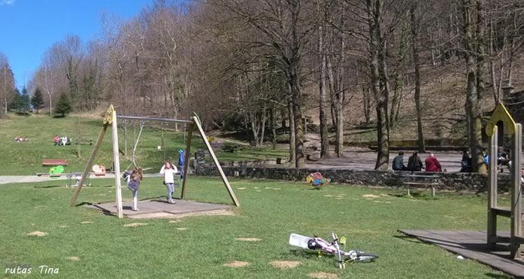 Parc Mare de la Font a Camprodon