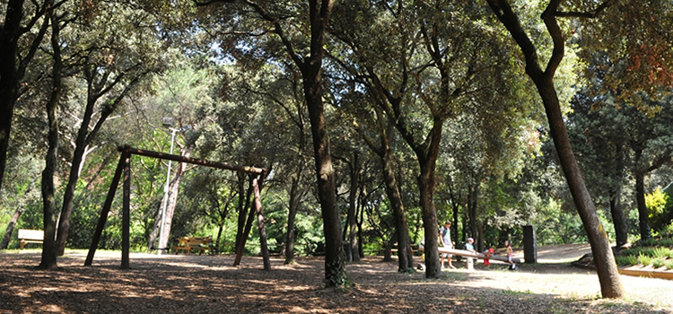 Parc de la font dels Oms a Cardedeu
