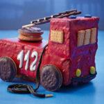 Pastissos de vehicles per a una festa infantil