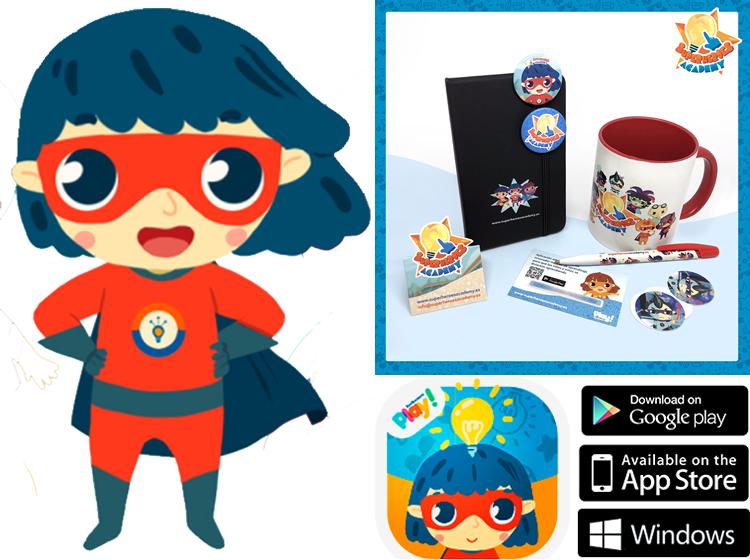 Superheroes Academy, una app de SomDocents per aprendre jugant