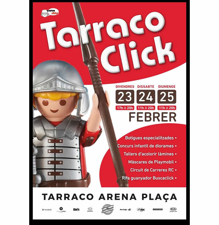 Fira Playmobil Tarraco Click