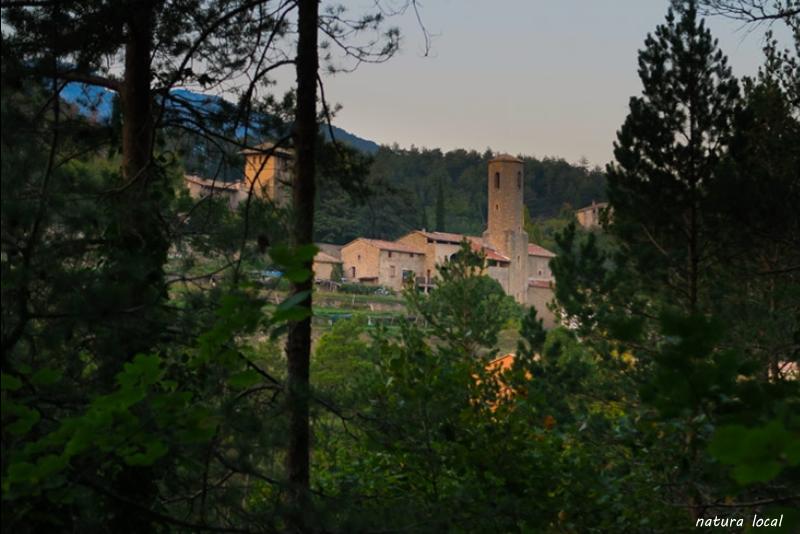 Sant Baptista i la torre de la Ferrera