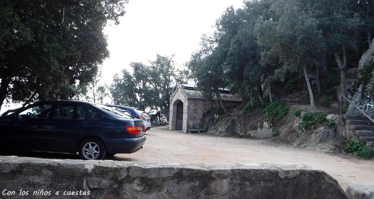 Ermita de L'Argimon a Riudarenes