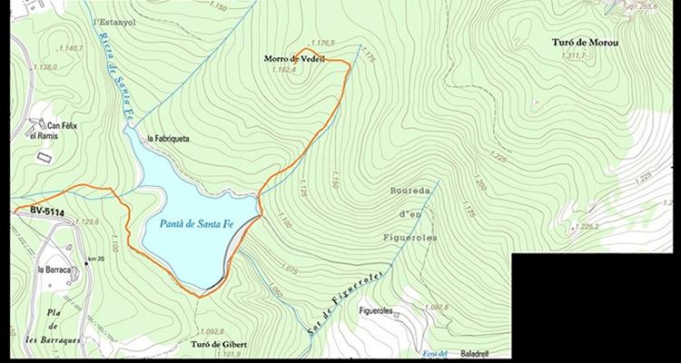 Morro del Vedell al Montseny