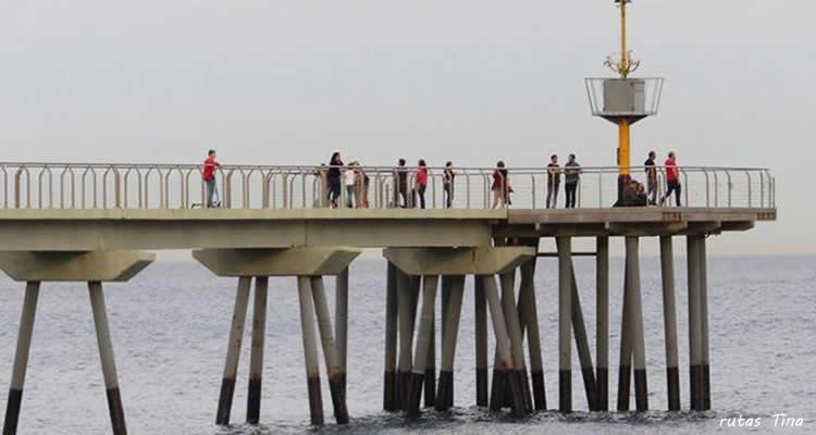 Pont del petroli de Badalona