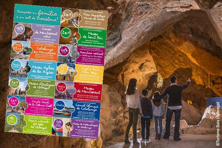 Turisme Baix Llobregat per a famílies - Cupons descomptes 2018