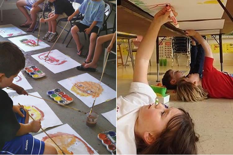 Dibuixar i pintar de manera divertida