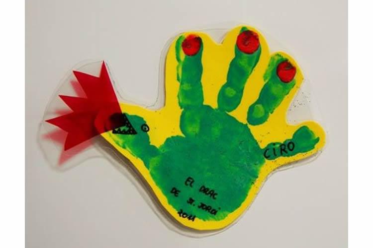 Dracs de Sant Jordi per fer amb els nens
