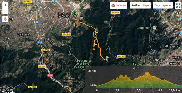 Excursió del Pi d'en Xandri a l'ermita de Sant Medir