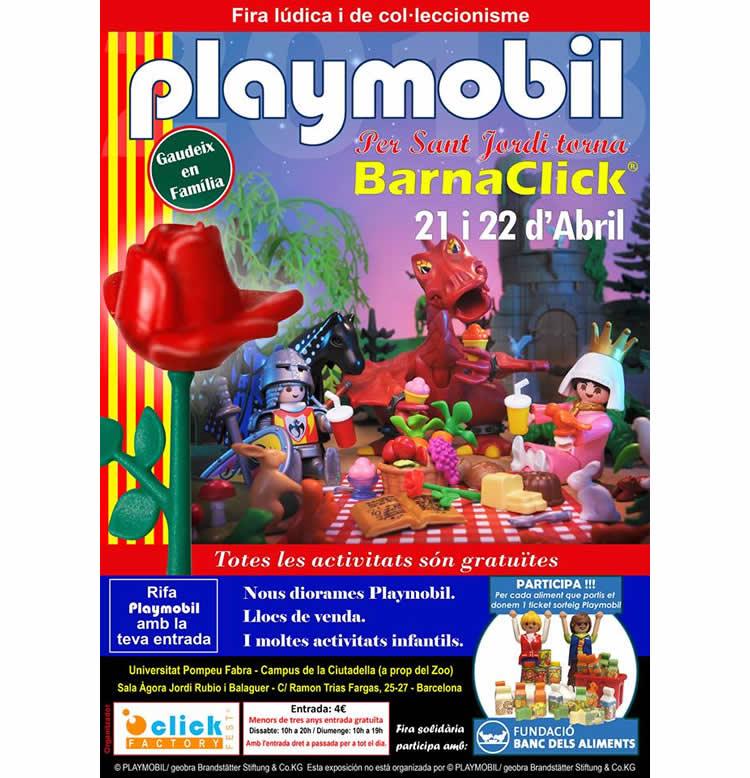 Fira Playmobil BarnaClicks2018