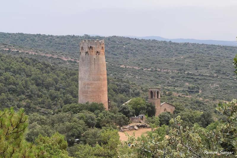 Torre de Vallferosa a Torà
