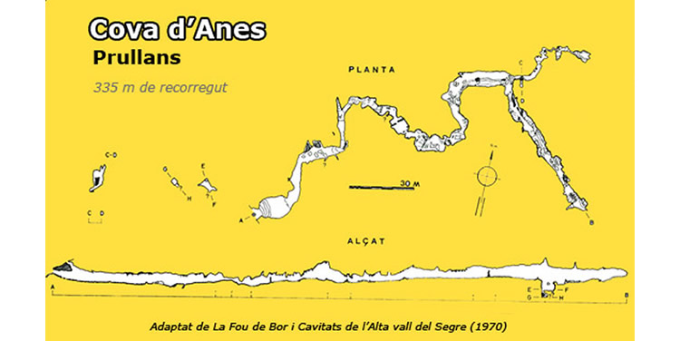 Cova d'Anes a Bellver de Cerdanya