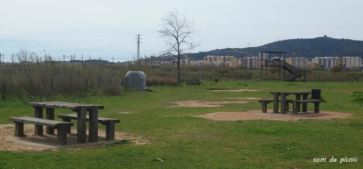 Pícnic de la Riera Pahissa a Sant Joan Despí