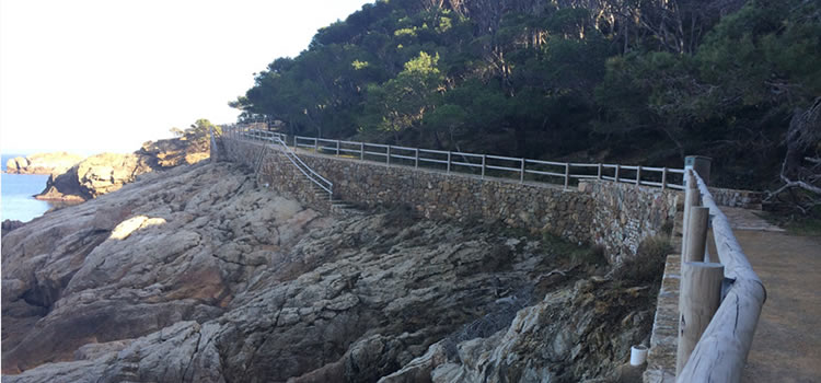 Camí de Ronda de Sa Tuna a Aiguafreda a Begur