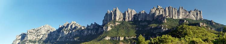 Parc Natural de la Muntanya de Montserrat amb nens