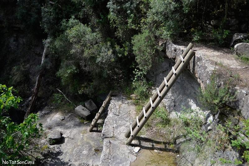 Torrent dels Abadals, ruta equipada