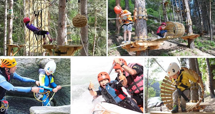 descompte pirineus parc aventura
