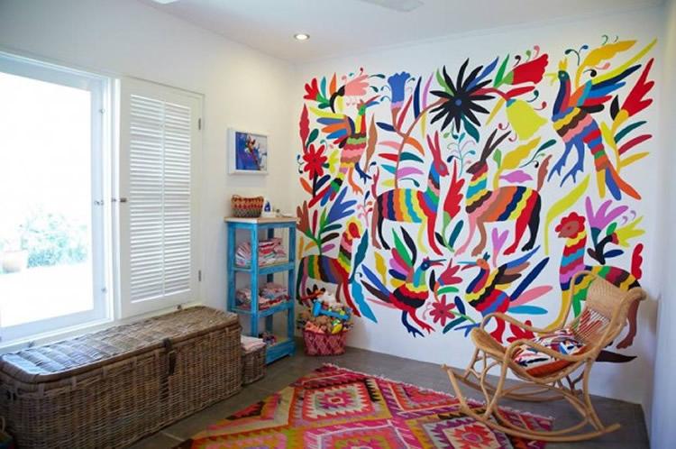 12 habitacions infantils amb parets atrevides