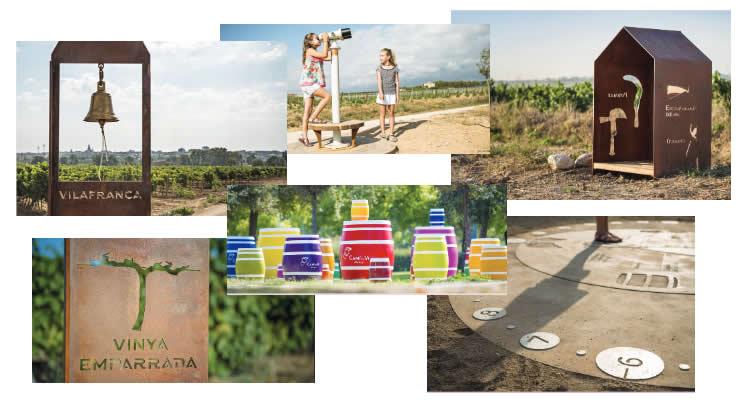 Camí del Vi o Winewalk de Vilafranca del Penedès