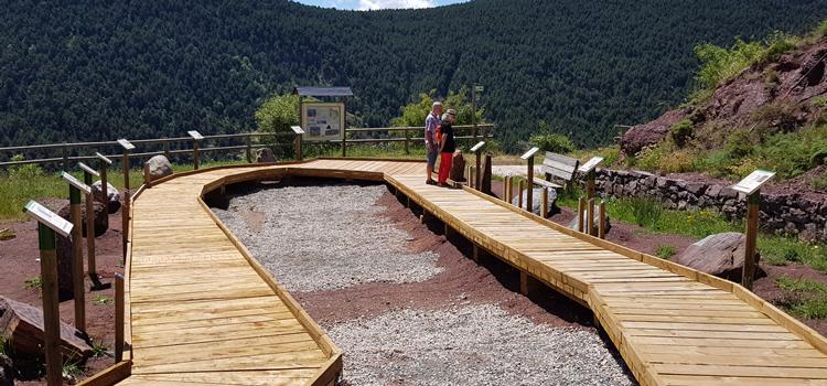 Jardí de Roques a Rubió (Soriguera)