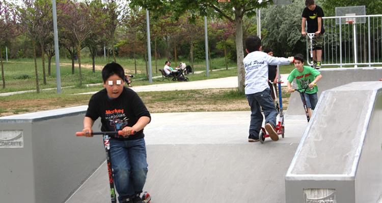 Pista skate del Parc de la Llacuna