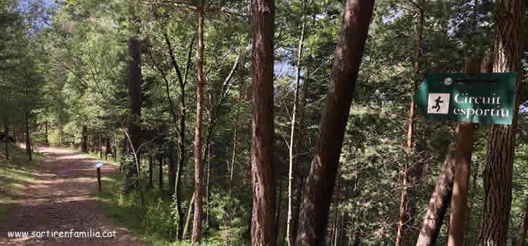 Circuit de les fonts a Engolasters a Escaldes-Engordany