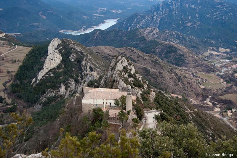 Santuari de Santa Maria de Queralt a Berga